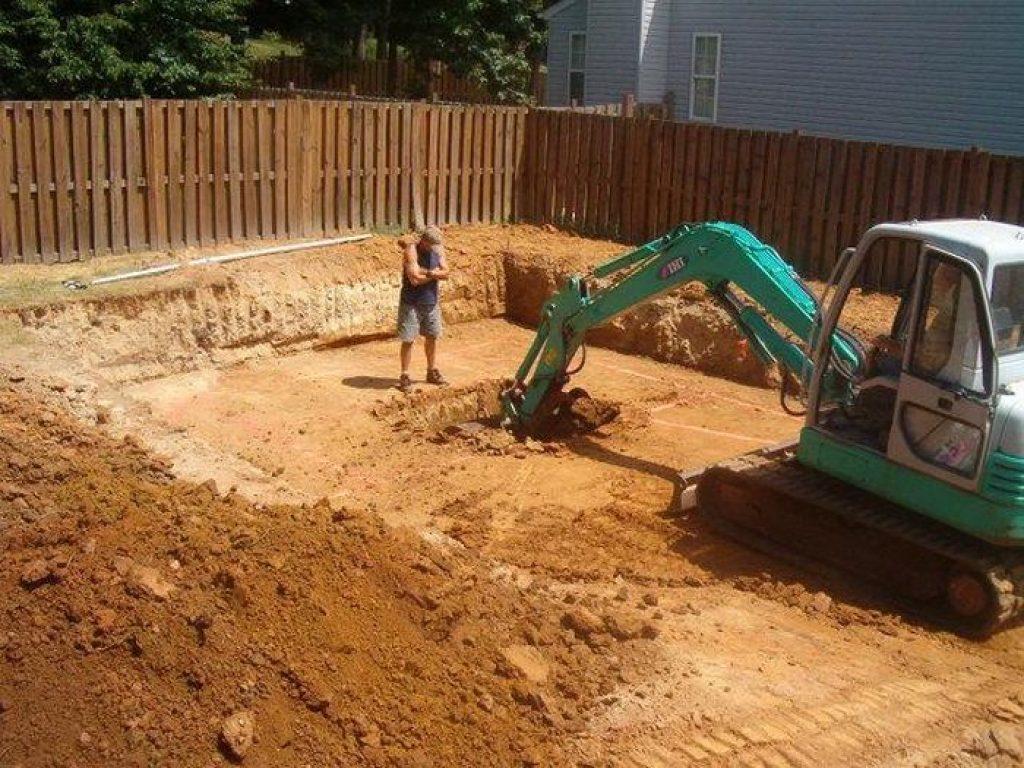 Стоимость разработки котлована под фундамент дачного дома